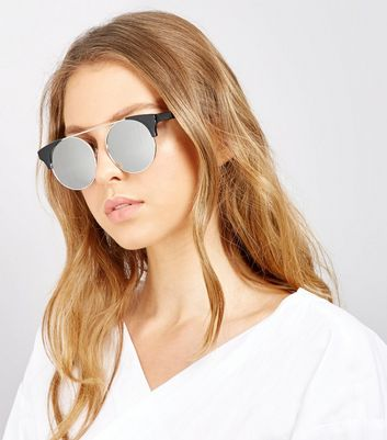 Black Mirror Lens Sunglasses
