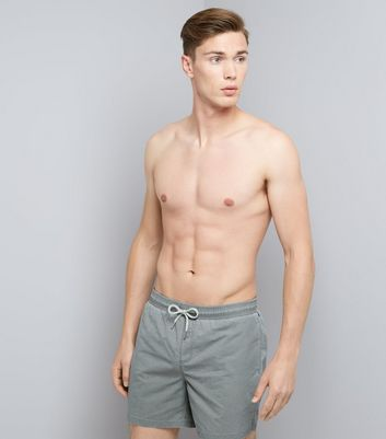 Grey Swim Shorts