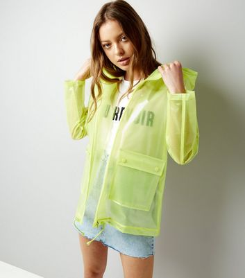Yellow Glitter Anorak