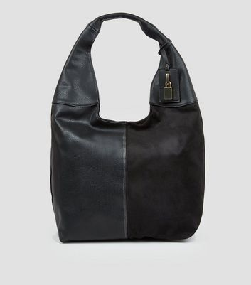 Black Oversized Hobo Bag