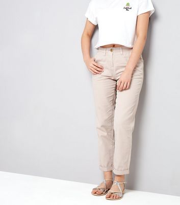 Teens Shell Pink Chinos