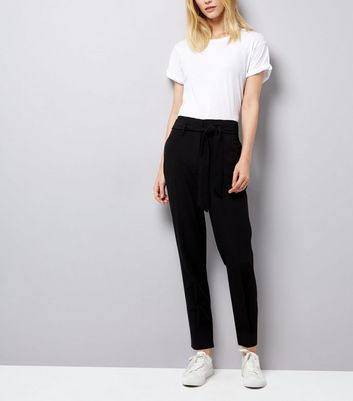 Black Tie Waist Trousers