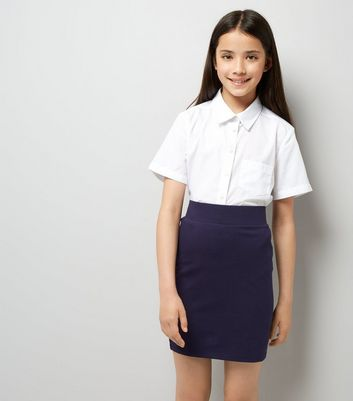 Teens Navy Tube Skirt