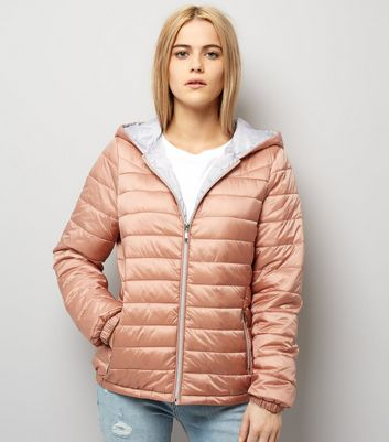 Pink Lightweight Puffer Jacket