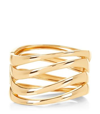 Gold Layered Hinge Bangle