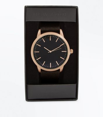 Brown Suedette Watch