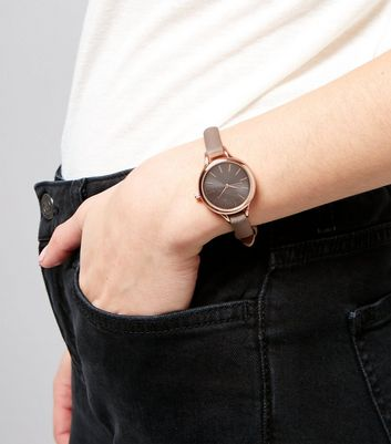 Charcoal Grey Mini Watch