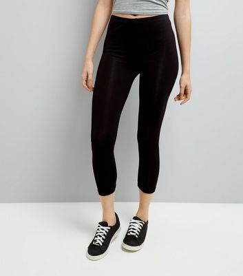 Legging mi-long noir