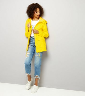 Tall Yellow Matte Anorak