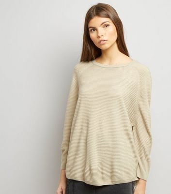 JDY Stone Ribbed Jumper