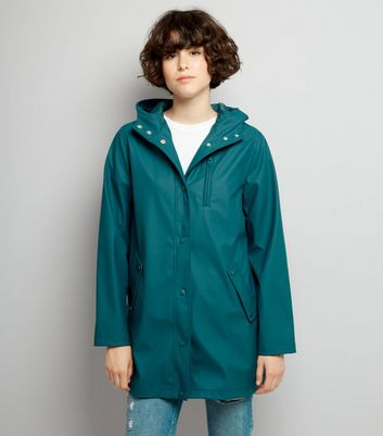 Dark Green Matte Anorak