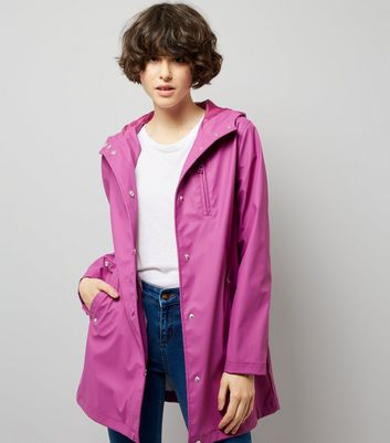 Purple Matte Anorak
