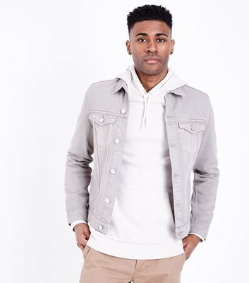 Stone Denim Jacket