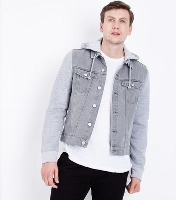 Men's Denim Jackets | Men's Black Denim Jackets | New Look