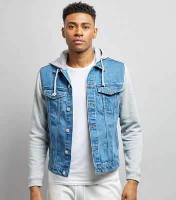 Men' Denim Jackets | Men's Black Denim Jackets | New Look