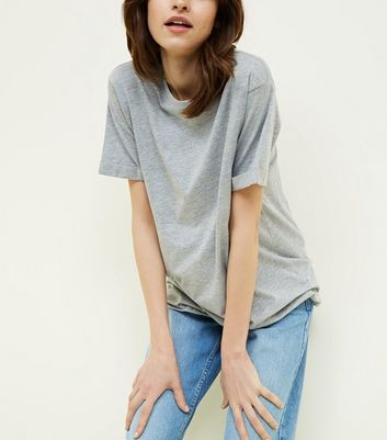 Tall Grey Oversized T-Shirt