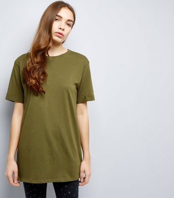 Tall Khaki Oversized T-Shirt