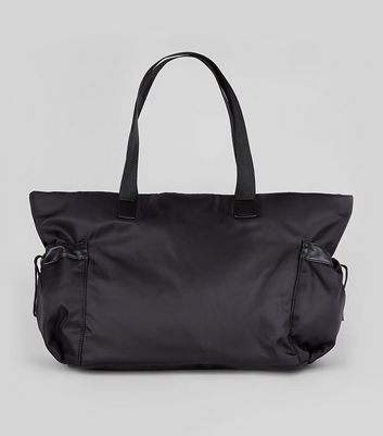 Black Luggage Tote Bag