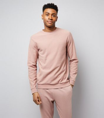 Deep Pink Crew Neck Sweater