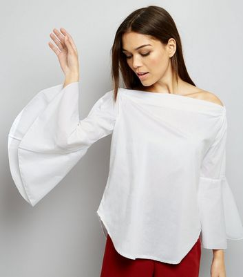 Loving This Bardot Neck Bell Sleeve Top