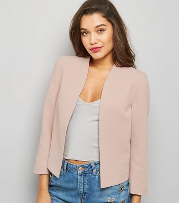 Tall Shell Pink Cropped Jacket