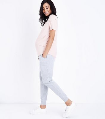 Maternity Grey Slim Leg Joggers