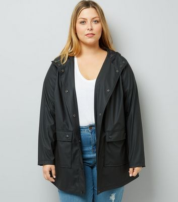 Curves Black Matte Anorak