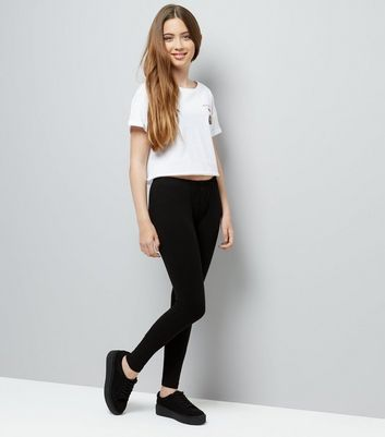 Teens 2 Pack Black Leggings