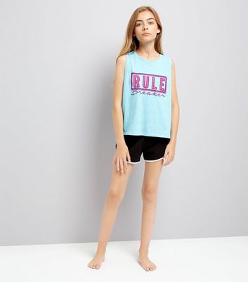 Teens Blue Rule Breaker Pyjama Set