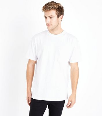White Pocket Front T-Shirt