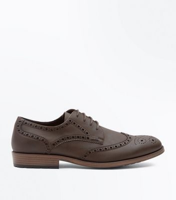 Brown Cleated Sole Brogues