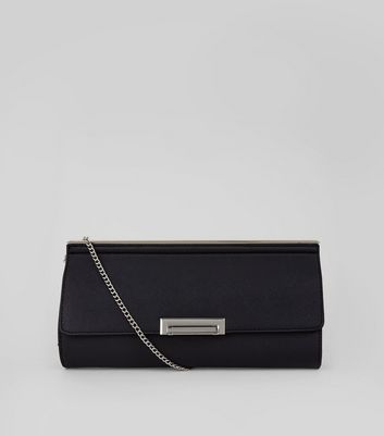 Black Metal Trim Clutch
