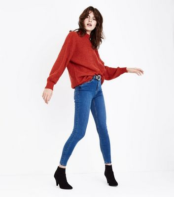 Tall Blue Super Soft Super Skinny Jeans
