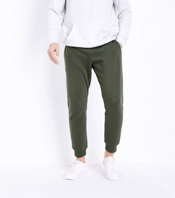 Khaki Joggers by New Look