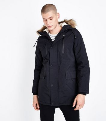 Men's Parka Coats | Parka & Puffer Jackets | New Look