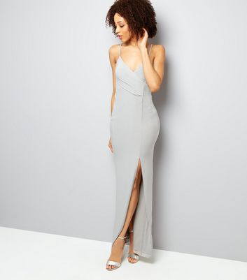AX Paris Grey Split Side Dress