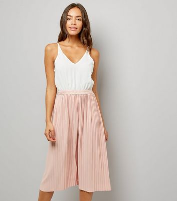 AX Paris Pink Pleated Skirt Dress