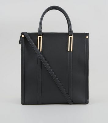 Black Oversized Tote Bag