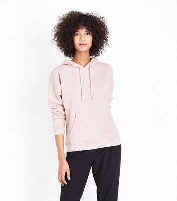 Pale Pink Oversized Hoodie
