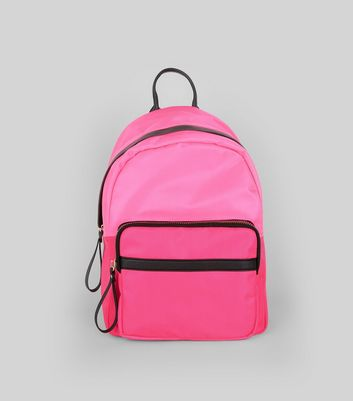 Pink Neon Backpack