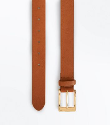 Curves Tan Jeans Belt