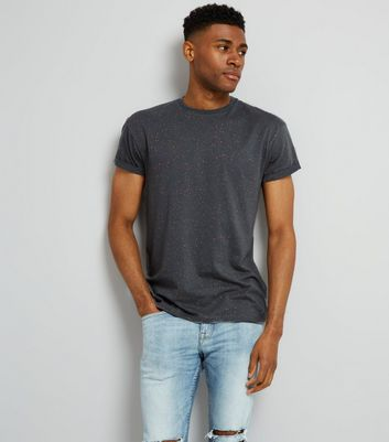 Grey Spray Wash T-Shirt