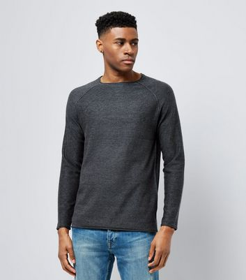 Black Stitch Trim Jumper