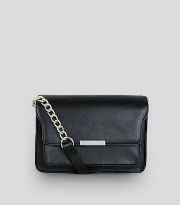 Black Chain Shoulder Bag