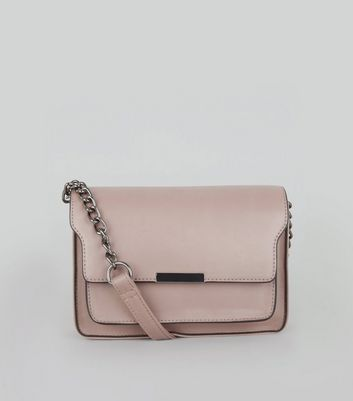 Shell Pink Chain Shoulder Bag