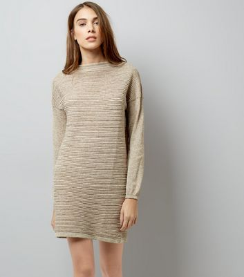 JDY Stone Ribbed Drop Shoulder Dress