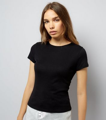 Black Fitted T-Shirt