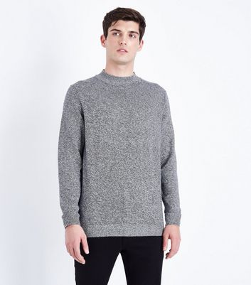 Grey Turtle Neck Jumper