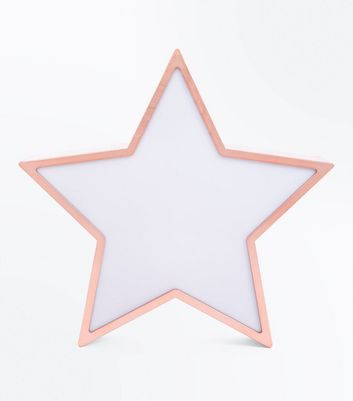 Rose Gold Star White Board