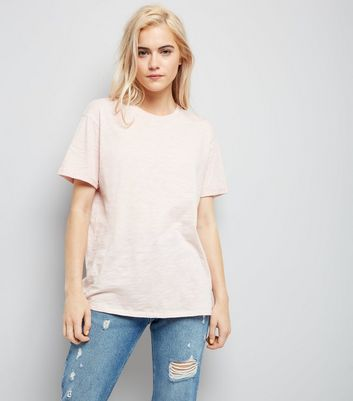 Pink Organic Cotton Short Sleeve T-Shirt